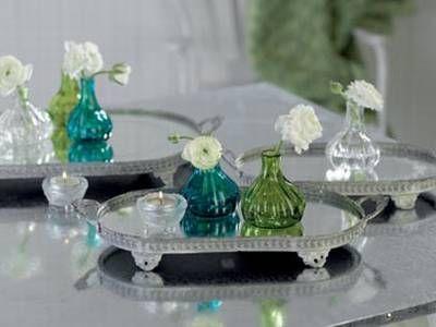 liebenswert online startseite house doctor zinktablett mit spiegelglas von house doctor. Black Bedroom Furniture Sets. Home Design Ideas