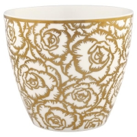 Gate Noir by GreenGate Latte Cup Blossom gold