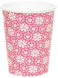 GreenGate Pappbecher Angelina pink