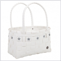 Handed By Shopper Mallorca white/silver star
