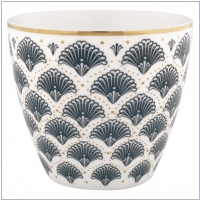 Gate Noir by GreenGate Latte Cup Elvina grey