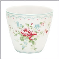 GreenGate Latte-Cup Abelone white