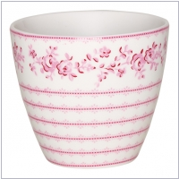 GreenGate Latte Cup Audrey raspberry