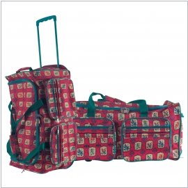 Rice Trolley-Tasche pink berry