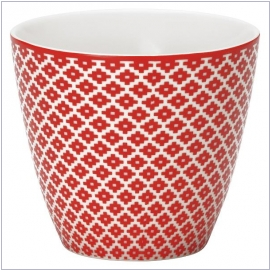GreenGate Latte Cup Judy red
