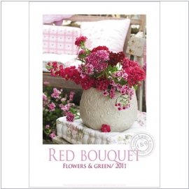 Lenebooks Poster Red Bouquet