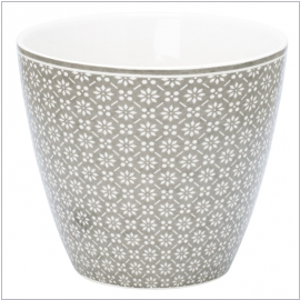 GreenGate Latte Cup Nanna warm grey