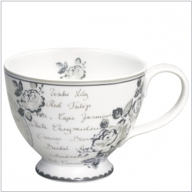 GreenGate Teetasse Dora white
