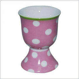 Falby Eierbecher dot pink