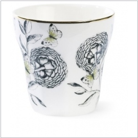 Miss Étoile Mug Big flowers/green