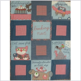 Room Seven Quilt Rooster